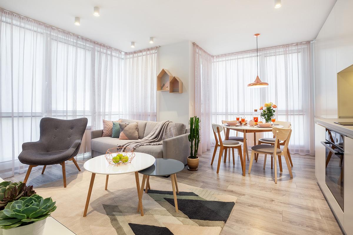 5 ключови елемента при интериорния дизайн на малък апартамент